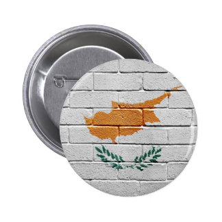 Flag of Cyprus 6 Cm Round Badge