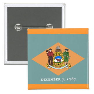 Flag of Delaware Button