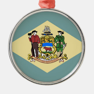 Flag of Delaware Christmas Ornament