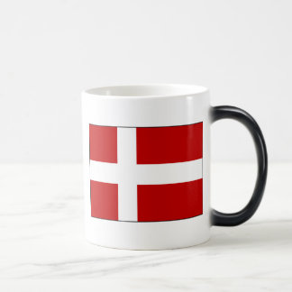 Flag of Denmark Magic Mug