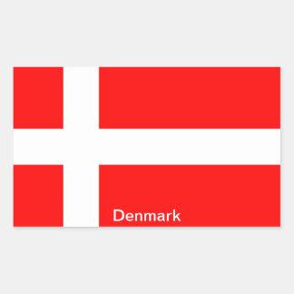 Flag of Denmark Stickers