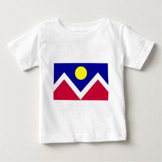 Flag of Denver Colorado Baby T-Shirt
