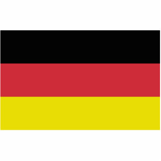 Flag of Deutschland Germany Acrylic Cut Out
