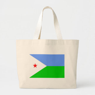 Flag of Djibouti Canvas Bag