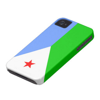 Flag of Djibouti Case-Mate iPhone 4 Cases