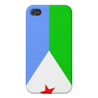Flag of Djibouti iPhone 4 Cover