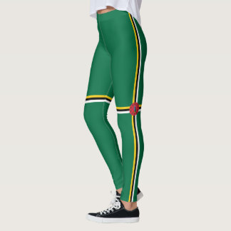 Flag of Dominica Leggings