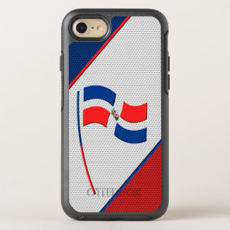 Flag of Dominicana OtterBox Symmetry iPhone 8/7 Case