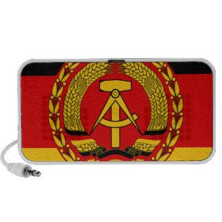 Flag of East Germany - Flagge der DDR (GDR) - NVA Mini Speaker