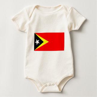 Flag of East Timor Baby Bodysuit