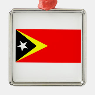 Flag of East Timor Christmas Ornament