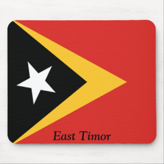 Flag of East Timor Mouse Pad