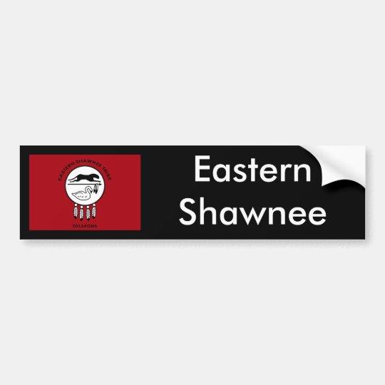 Flag of Eastern Shawnee Bumper Sticker