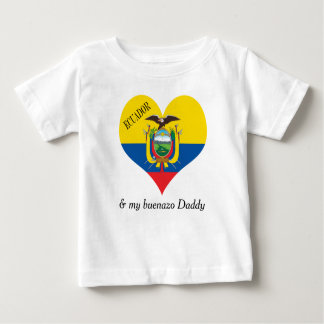 Flag of Ecuador Baby T-Shirt
