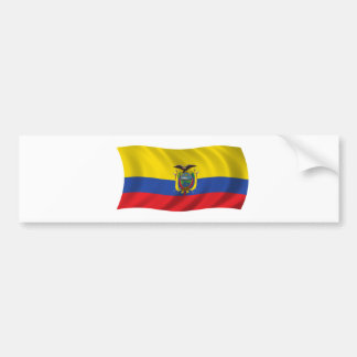 Flag of Ecuador Bumper Sticker