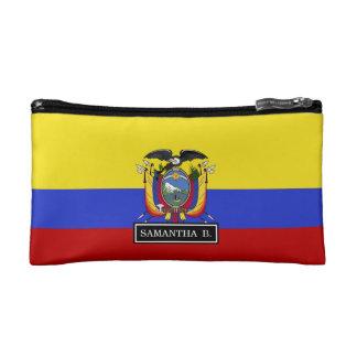 Flag of Ecuador Cosmetics Bags