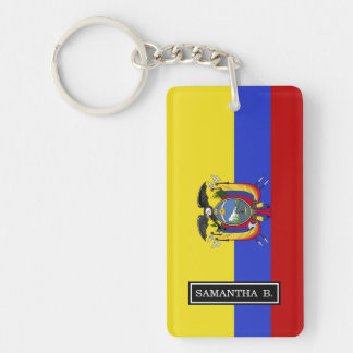 Flag of Ecuador Key Ring