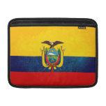 Flag of Ecuador MacBook Sleeves