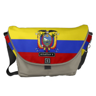 Flag of Ecuador Messenger Bag