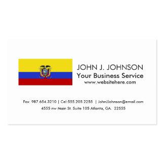 Flag of Ecuador Pack Of Standard Business Cards