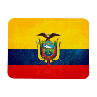 Flag of Ecuador Rectangular Photo Magnet