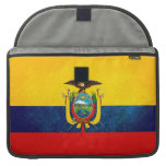 Flag of Ecuador Sleeve For MacBooks
