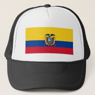 Flag of Ecuador Trucker Hat