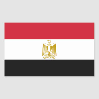 Flag of Egypt Decal Sticker