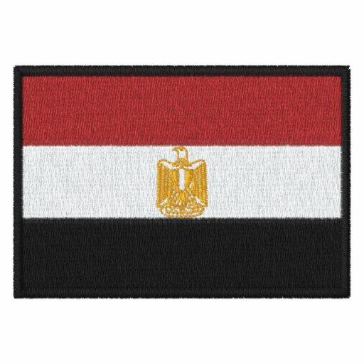 Flag of Egypt Embroidered Shirt - Customizable