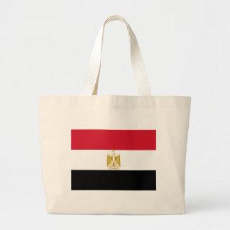 Flag of Egypt Jumbo Tote Bag