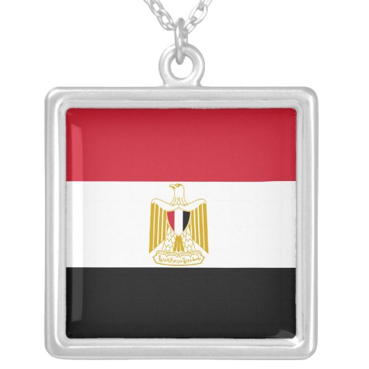 Flag of Egypt Necklace
