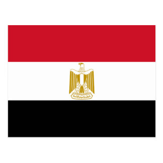 Flag of Egypt Postcard