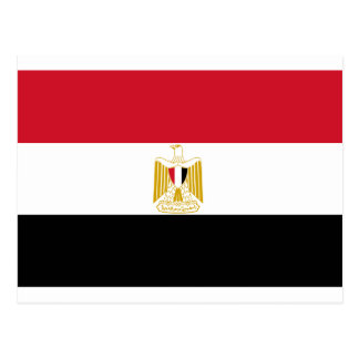 Flag of Egypt Postcard