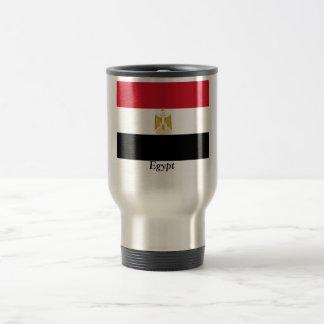 Flag of Egypt Stainless Steel Travel Mug