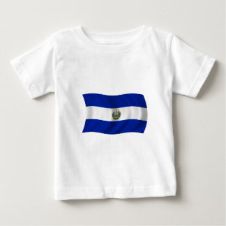 Flag of El Salvador Baby T-Shirt