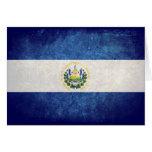 Flag of El Salvador Card