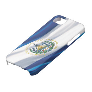 Flag of El Salvador iPhone 5 Case-Mate