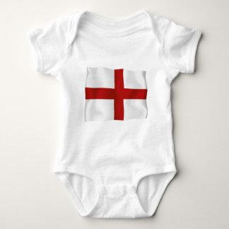 Flag Of England Baby Bodysuit