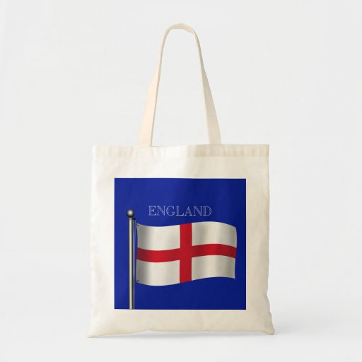 Flag of England Tote Bags