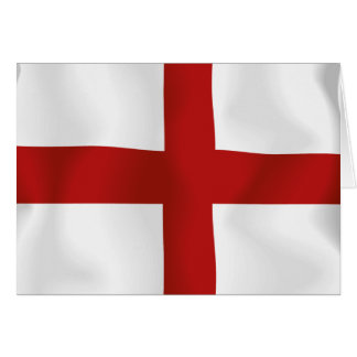 Flag Of England Greeting Cards