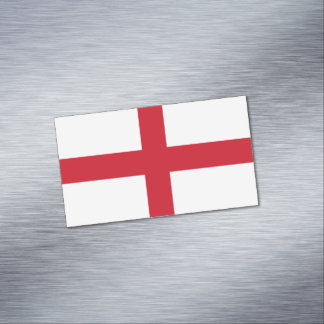 Flag of England Magnetic Business Cards