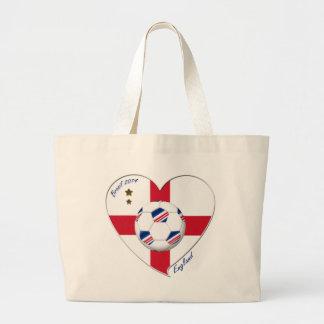 Flag of ENGLAND SOCCER of national team 2014 Canvas Bag