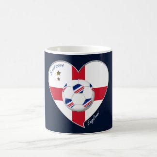 Flag of ENGLAND SOCCER of world 2014 Mug