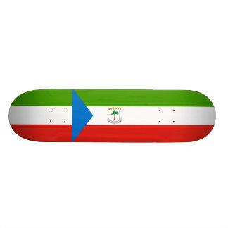 Flag of Equatorial Guinea Skateboard Deck