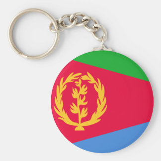 Flag of Eritrea Key Ring