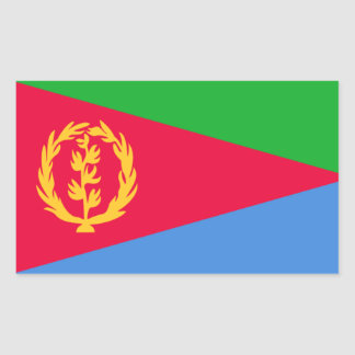 Flag of Eritrea Rectangular Sticker