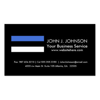 Flag of Estonia Pack Of Standard Business Cards