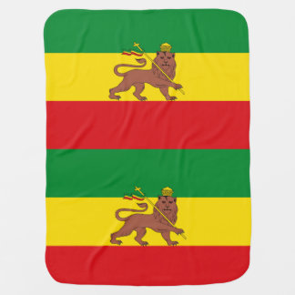 Flag_of_Ethiopia_(1897-1936;_1941-1974).png Baby Blanket