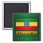Flag of Ethiopia Fridge Magnets