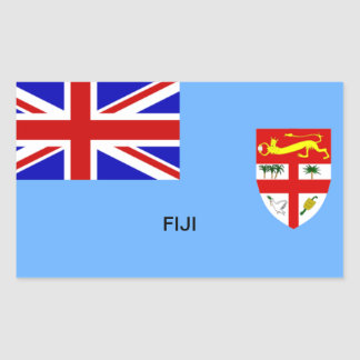 Flag of Fiji Rectangular Sticker
